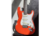 Corps Stratocaster Fiesta Red relic / EMG David Gilmour