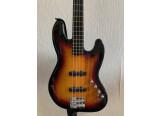 Squier Deluxe Jazz Bass IV 3SB