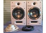 Enceintes actives monitoring Pioneer S-DJ05 Blanc