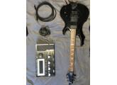 Ensemble GR55 + GK3 sur Guitar LTD F-250