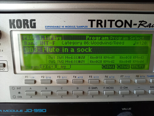 Korg Triton Rack (5044)