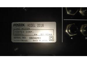 Fostex Model 2016 (96226)