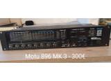 Vends MOTU 896 Mk3