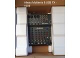 Vends table de mixage Alesis Multimix 8 USB FX