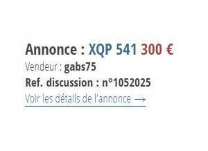 XQP 541