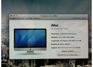 "Apple Imac Intel Quad-core i5 27"" 2,66 GHz (7929)"