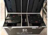 vend 2 wash pr lighting XLED590 en flycase de 2