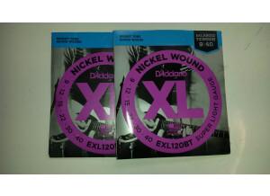 D'Addario XL Nickel Wound Electric