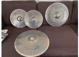 Vends cymbales GEN16 en nickel, parfait état.
