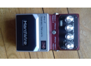 HardWire Pedals RV-7 Stereo Reverb