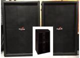 Rare Paire de caissons DAS audio BASS 03 type kick bin double 15 pouces
