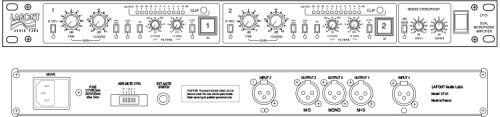 Lafont Audio Labs LP-21 Dual Mic Preamp (77390)