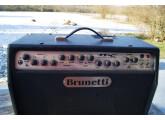 Magnifique ampli guitare Brunetti MC² tout lampes fait main en Italie en très bon état.