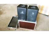 2 enceintes QSC K8 + Fly case !