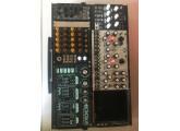 Vend synthétiseur modulaire complet.