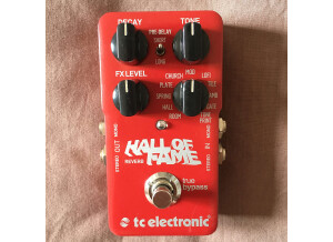 TC Electronic Hall of Fame Reverb