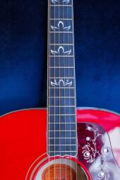 Gibson Orianthi Lotus SJ200 : OrianthiSJ200-12