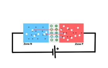 Jonction PN polarisée