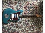 Fender Jazzmaster American Original 60 Ocean Turquoise + Mastery bridge M1 + Flight Case