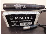 ALIMENTATION PHANTOM POUR MICROPHONES  ÉLECTRET  AKG Réf: MPA 111L