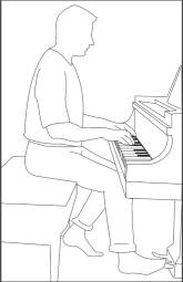 Pianos numériques : posture-dos-jouer-du-piano