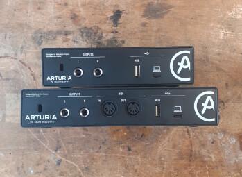 Arturia MiniFuse 1 : Minifuse arrière