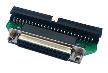E-MU E5000 Ultra : adaptateur sn 50 male vers db25 femelle