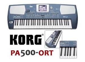 Korg Pa500ORT