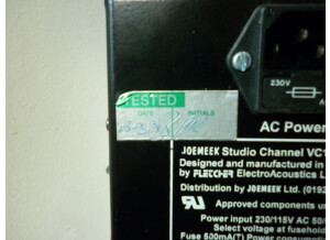 Joemeek VC1Q Studio Channel (57206)
