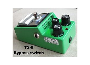 Ibanez TS9 - Brown mod - Modded by Analogman