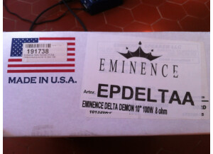 Eminence Delta Demon