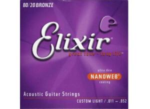 Elixir Strings Nanoweb Coating Phosphore Bronze Acoustic