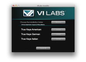 VI Labs True Keys German