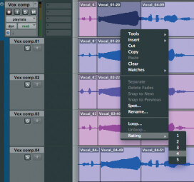 Comping audio