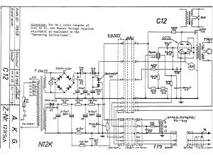 C12 schema propre