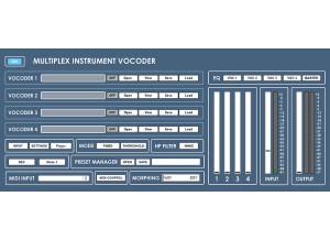 Digital Brain Instruments Multiplex Vocoder