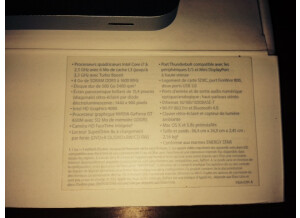 "Apple Macbook Pro 15"" 2.3 GHz Intel Core i7 (43542)"