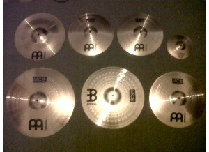 Meinl MCS Ready Matched Cymbal Set-up
