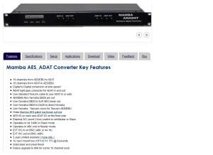 Audia Convertisseur SPDIF optique / coaxial