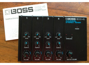 Boss BX-4 4 Channel Stereo Mixer