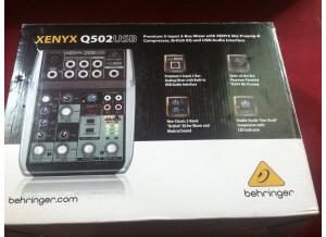 Behringer Xenyx Q502USB (4115)