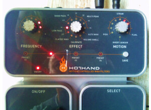 Source Audio Hot Hand Motion Controlled Wah Filters