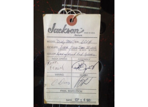 Jackson dinky strat