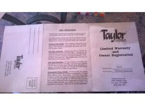 Taylor 510 (41342)