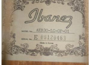Ibanez AEB30E